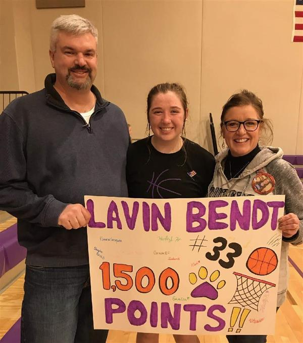 Lavin Bendt - All State Class B GBB