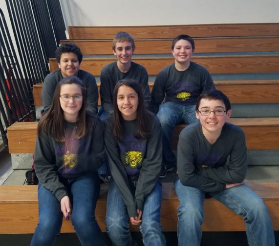 MS Acalympics Team Competes in Pierre